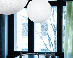 SUSPENSION LUMEN CENTER ICEGLOBE (57 CM)