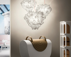 SUSPENSION SLAMP VELI COUTURE (Diamètre 42 ou 60 cm)